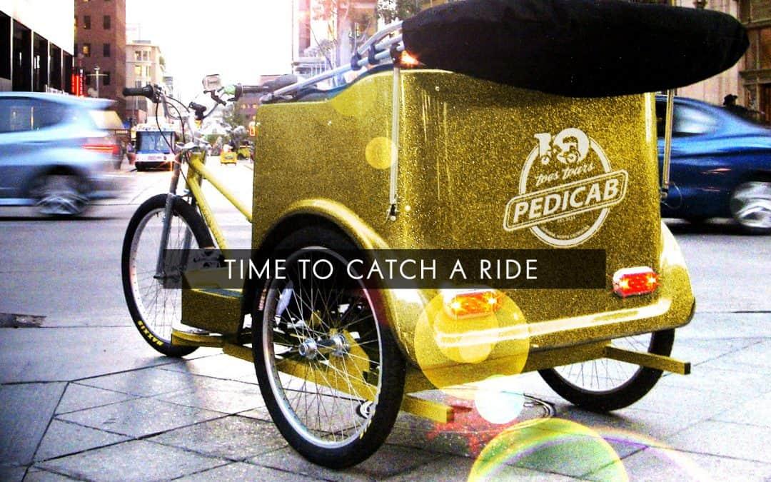 Ten Toes Tours pedicab service in Durham