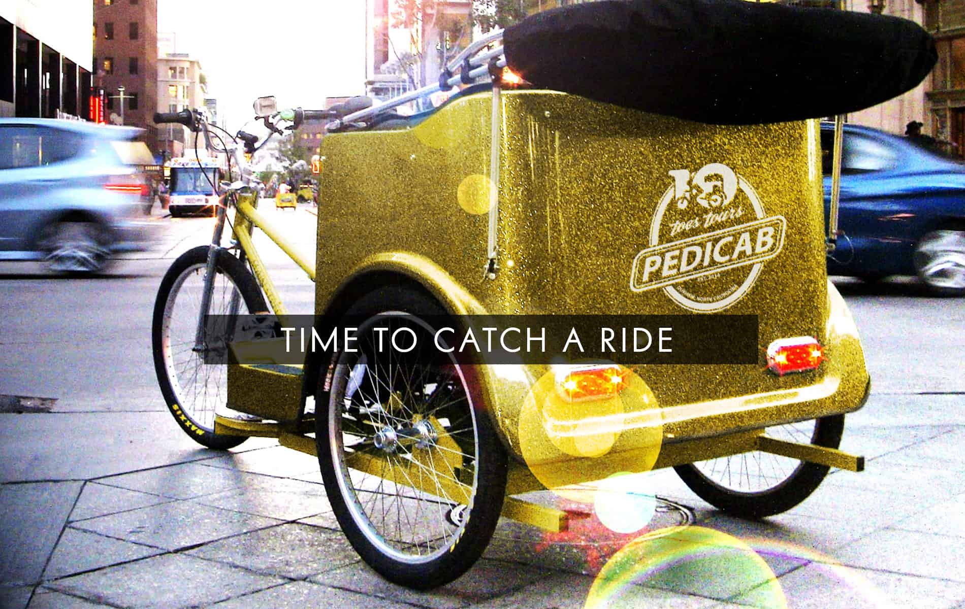 Ten Toes Tours pedicab service in Durham