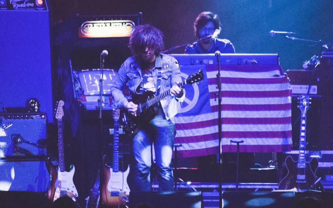 "Jacksonville, NC born Artist, Ryan Adams Acoustic ""Gimme Something Good"""