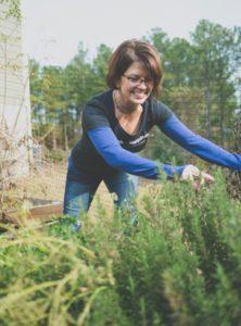 Meg Poe Gardening May 2019
