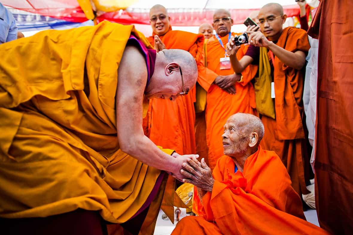 Dalai Lama visits Raleigh in October