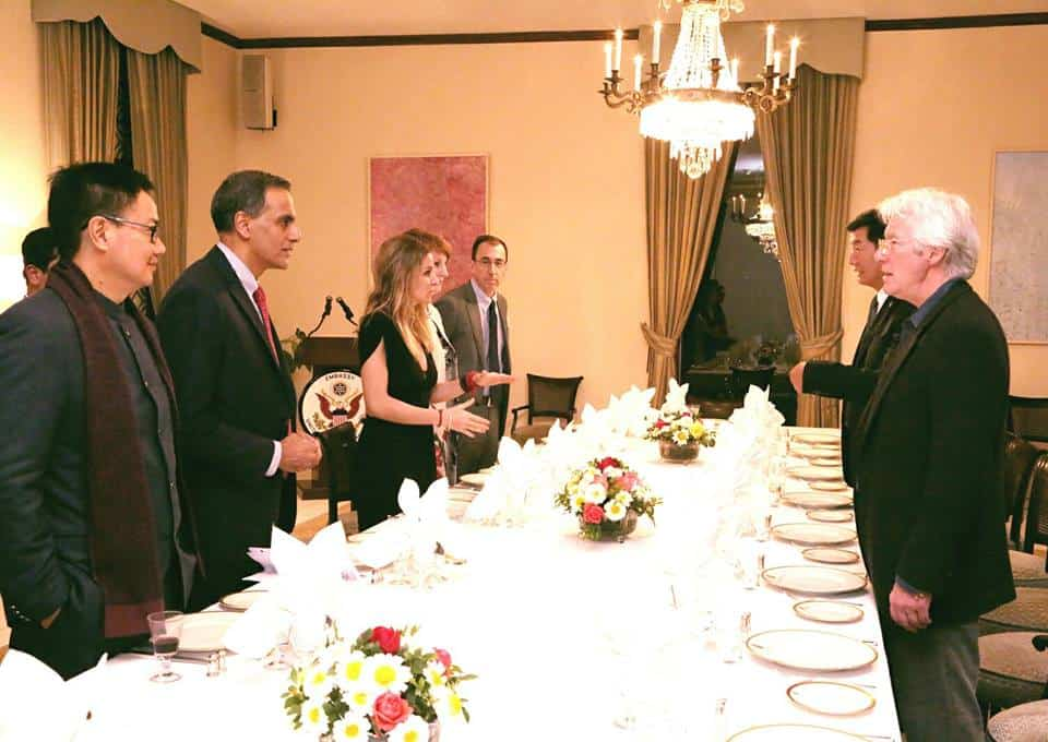 China irked by Tibetan PM presence at US Ambassador's dinner gathering