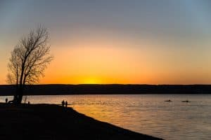 Cayuga Lake by franklyn Crawford