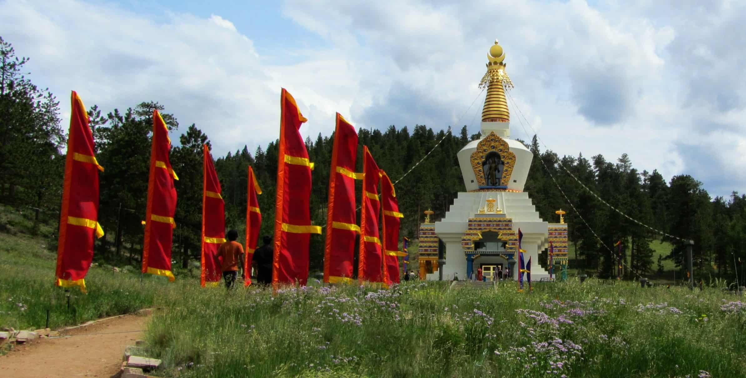 The Construction of the Great Stupa of Dharmakaya (in Colorado)