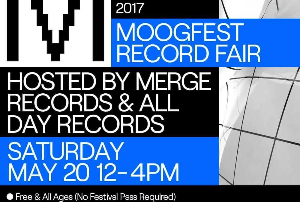 Moogfest Record Fair