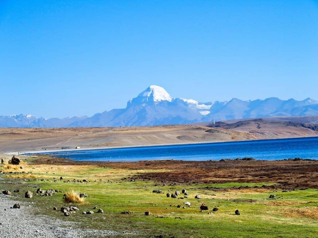Tibetan landscape image