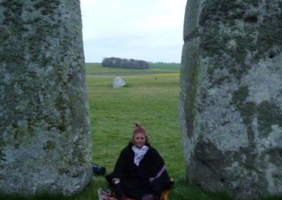 Susan Norton in Ceremony at Stonehenge