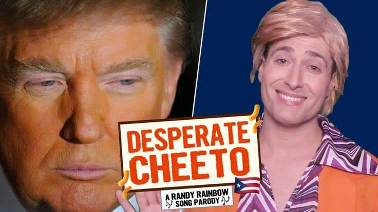 Randy Rainbow, Meritorious satire at just the right moment!