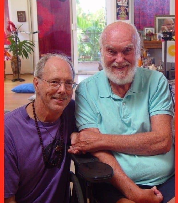 Ram Dass and Jon