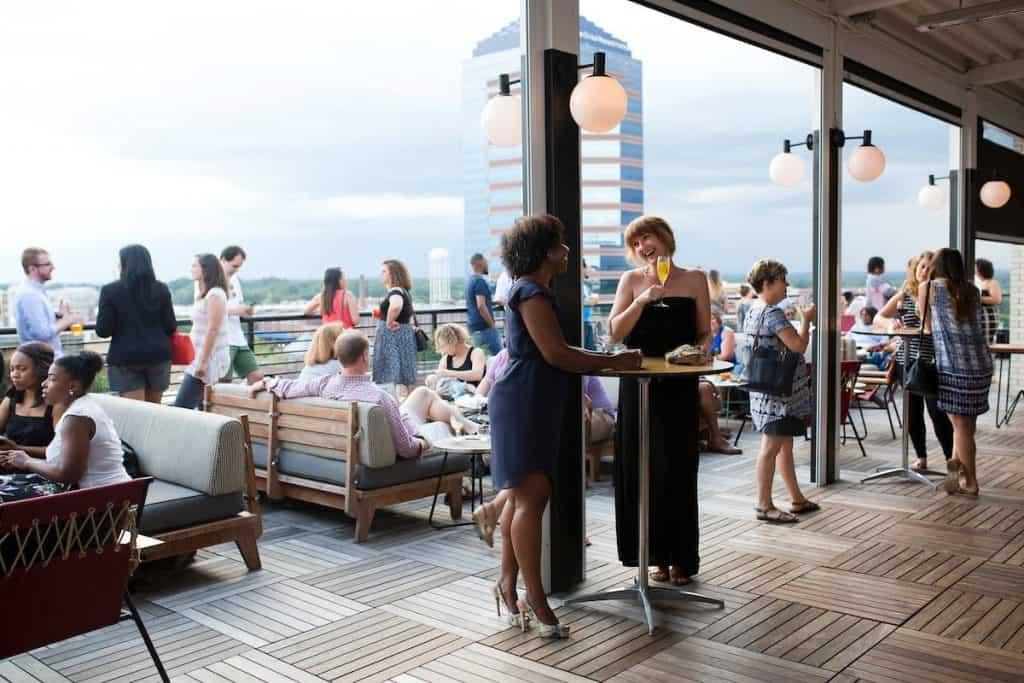 Durham Hotel Rooftop