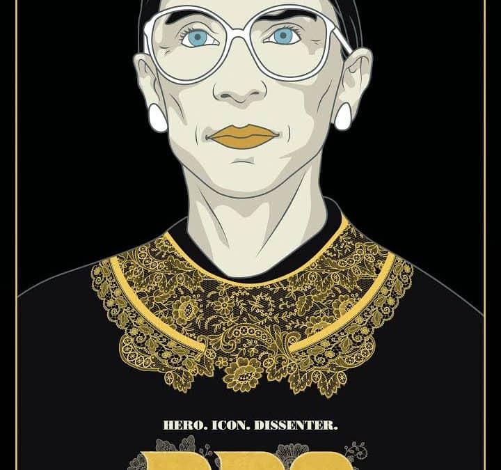 Ruth Bader Ginsburg Film Poster