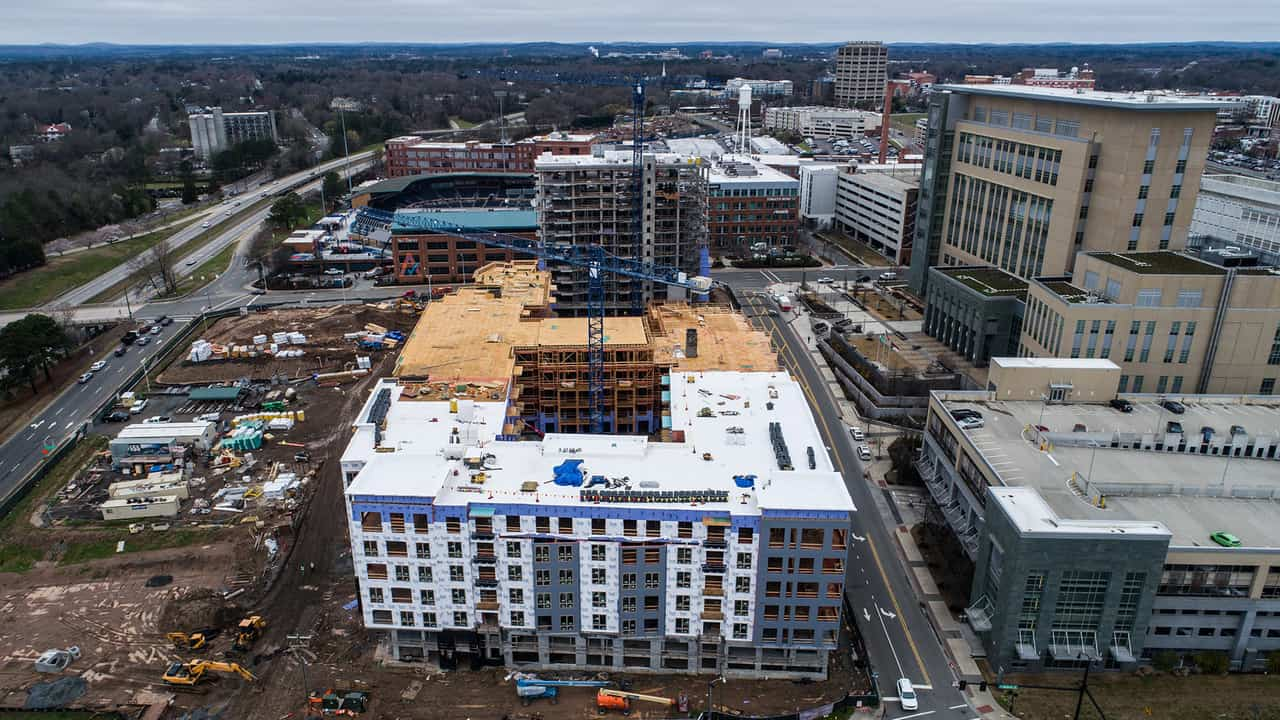 Durham downtown rising Housing costs?