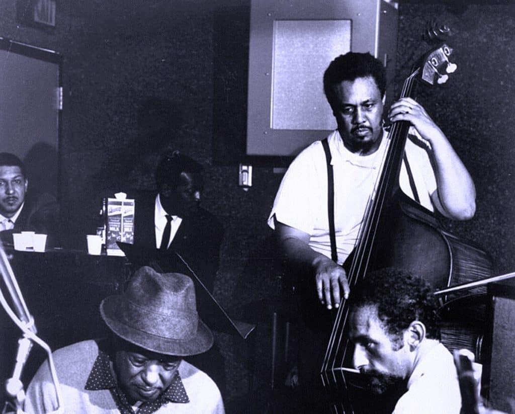 Mingus on bass