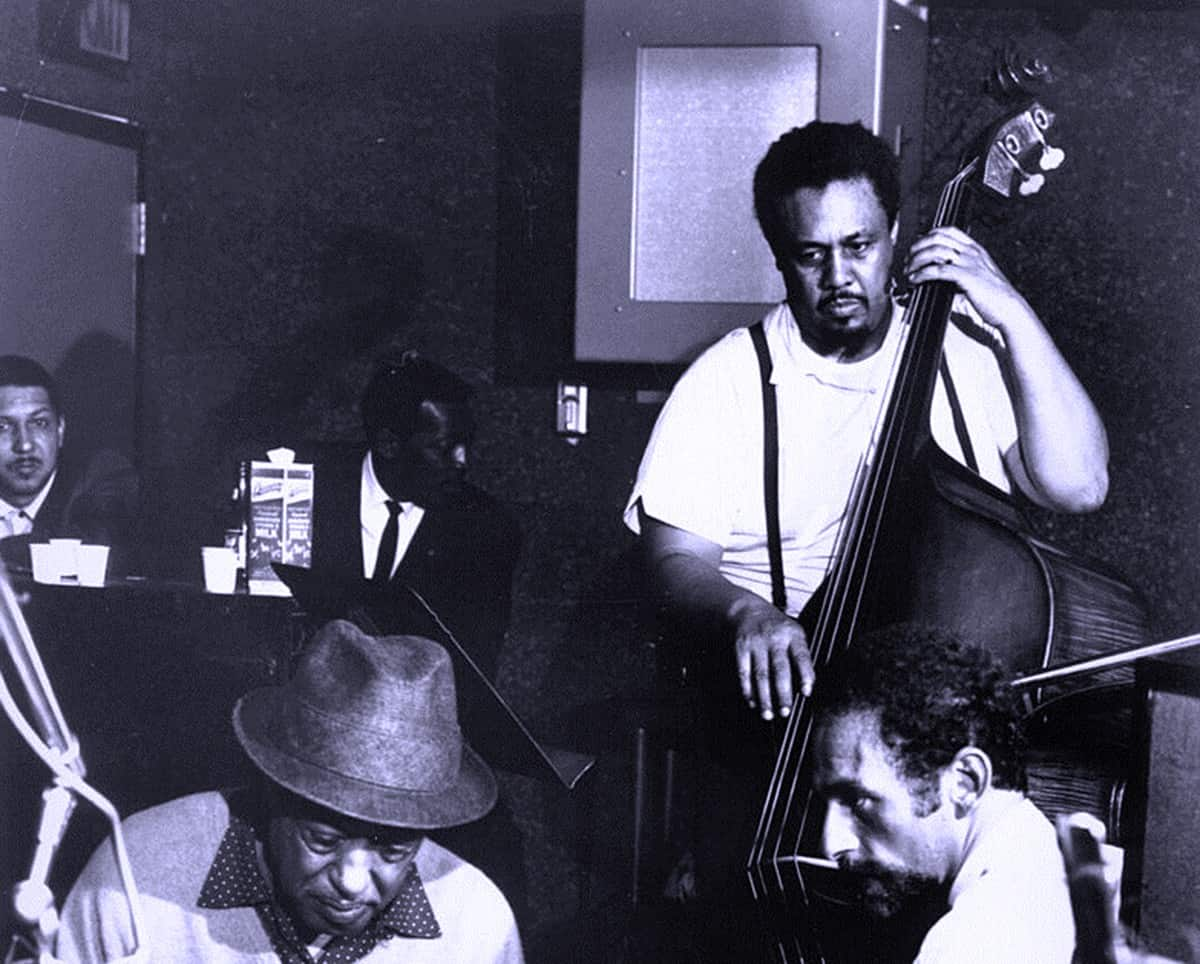 Mingus on bass