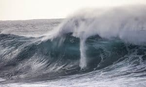 Hurricane John Waves