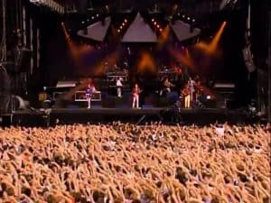 Dire straits from audience view