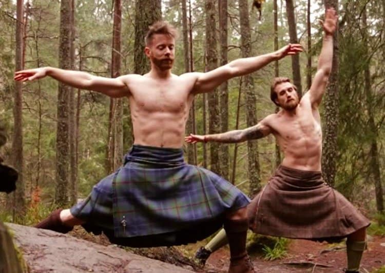 Kilted Yoga for your viewing enjoyment