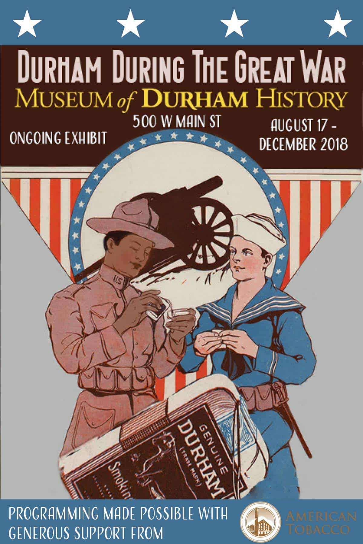 Durham During the Great War-Wraps up successful run with Public Event!