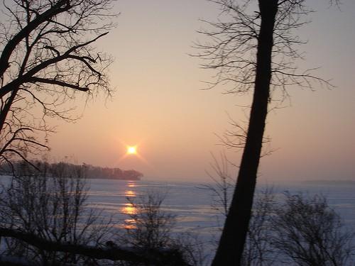 Frozen Lake Minnetonka