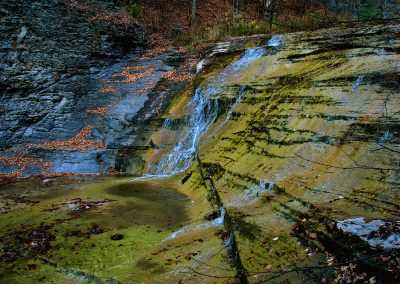 Cascadilla Falls by Franklin Crawford