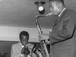 Miles and John Coltrane