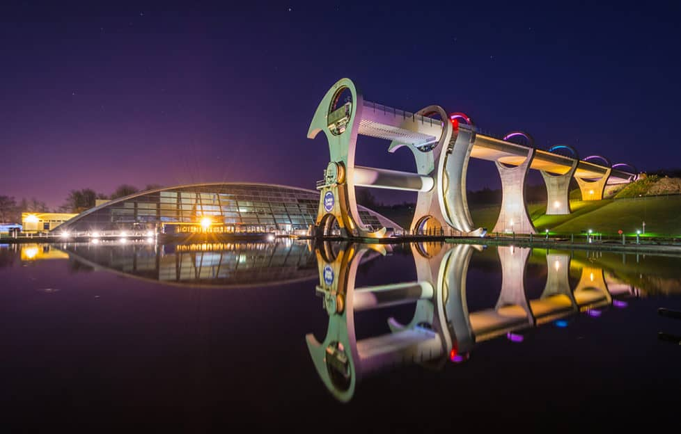 Falkirk Wheel Boat-Scottish Ingenuity!