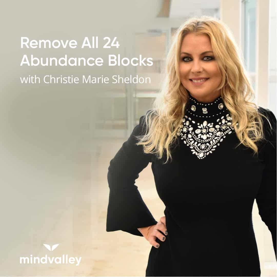 Remove all 24 Abundance Blocks-Christie Marie Sheldon.