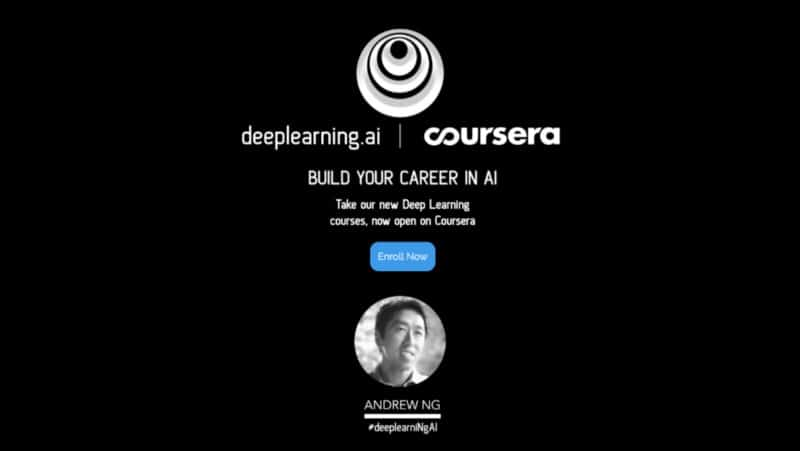 Enroll in Deep Learning Specialization on Coursera now! # 1 for a reason!