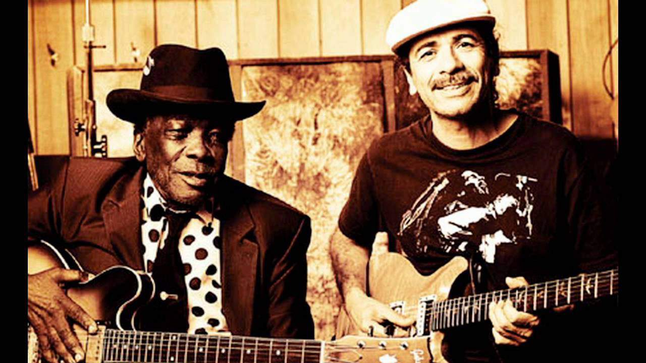 Healer John Lee Hooker with Carlos!