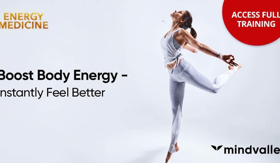 Energy Medicine Banner Mindvalley