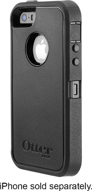 OtterBox – Defender Series Case for Apple® iPhone® SE, 5s and 5 – Black and Otterbox for iPhone(s) XR,XS Max, 7,8