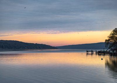 Cayuga Lake By Franklin Crawford