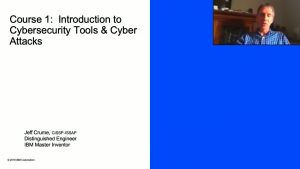 Introduction to Cybersecurity Learning Slide online course