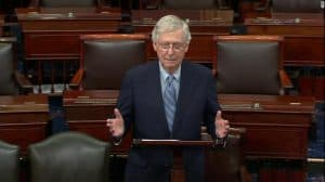 McConnell Defends blocking Election security bills