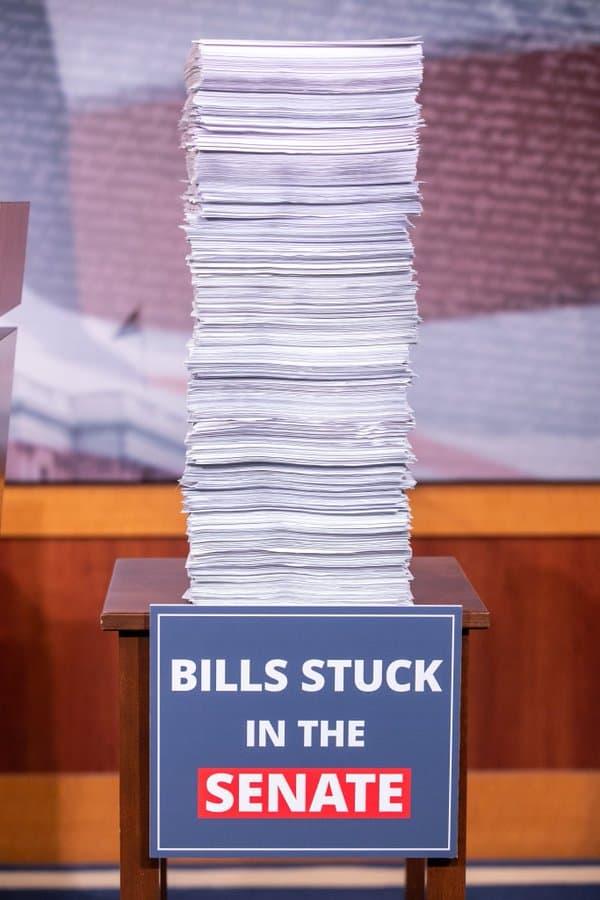 Bills stuck in the Senate
