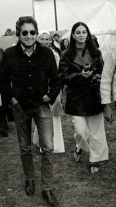 Bob and Sara Dylan 2019