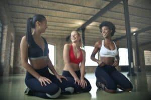 3 Women in Yoga Class by Bruno Mars Unspash