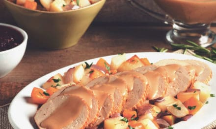 Why I love Quorn celebration roast