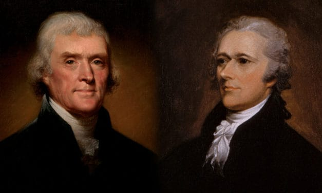 Hamilton vs. Jefferson who's national vision won?