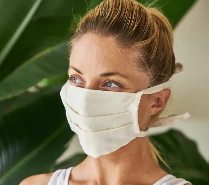 NEW! ORGANIC COTTON FACE MASK