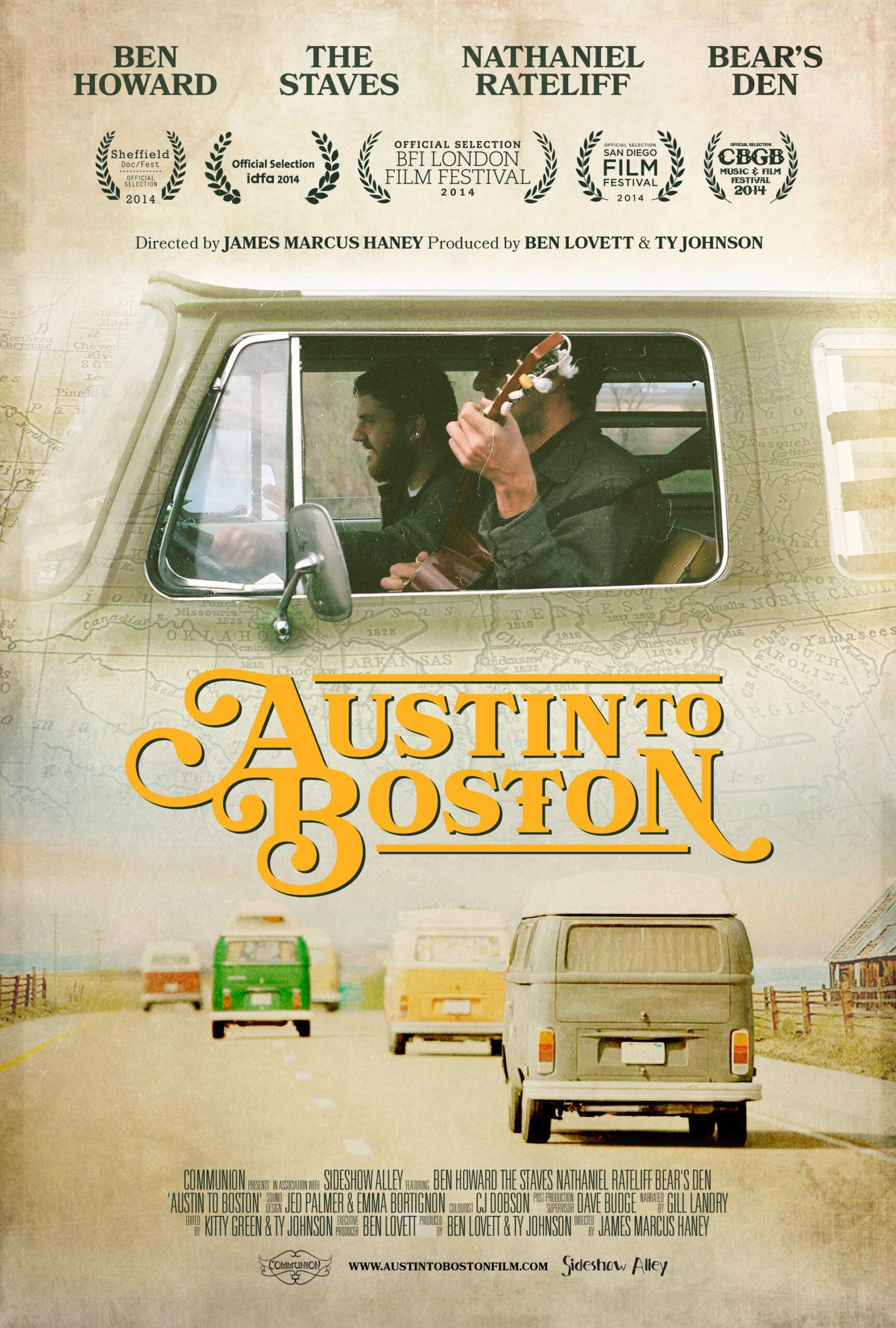Austin to Boston Film Poster