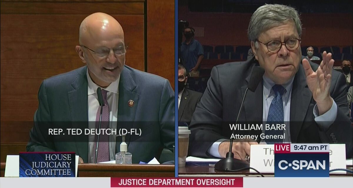 Rep. Deutch demonstrates how to question A.G. Barr