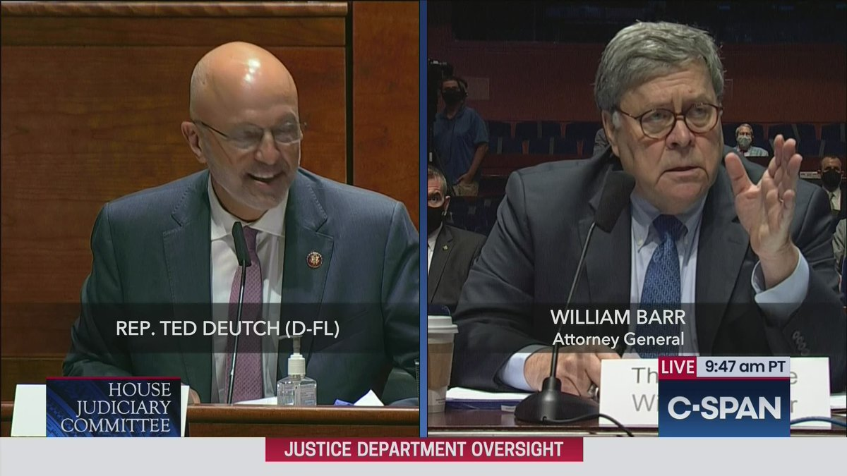 Ted Deutch questions A.G. Barr