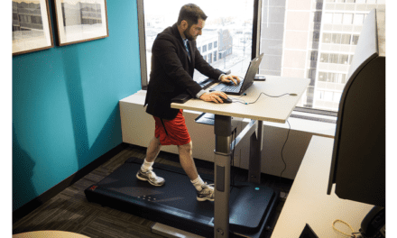 The Beauty of a Treadmill Desk