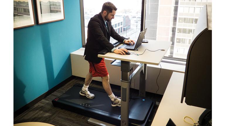 The Beauty of a Treadmill Desk