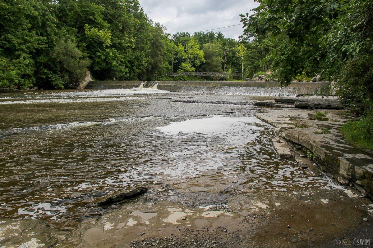 Flat Rock Ithaca NY Cascadilla creek