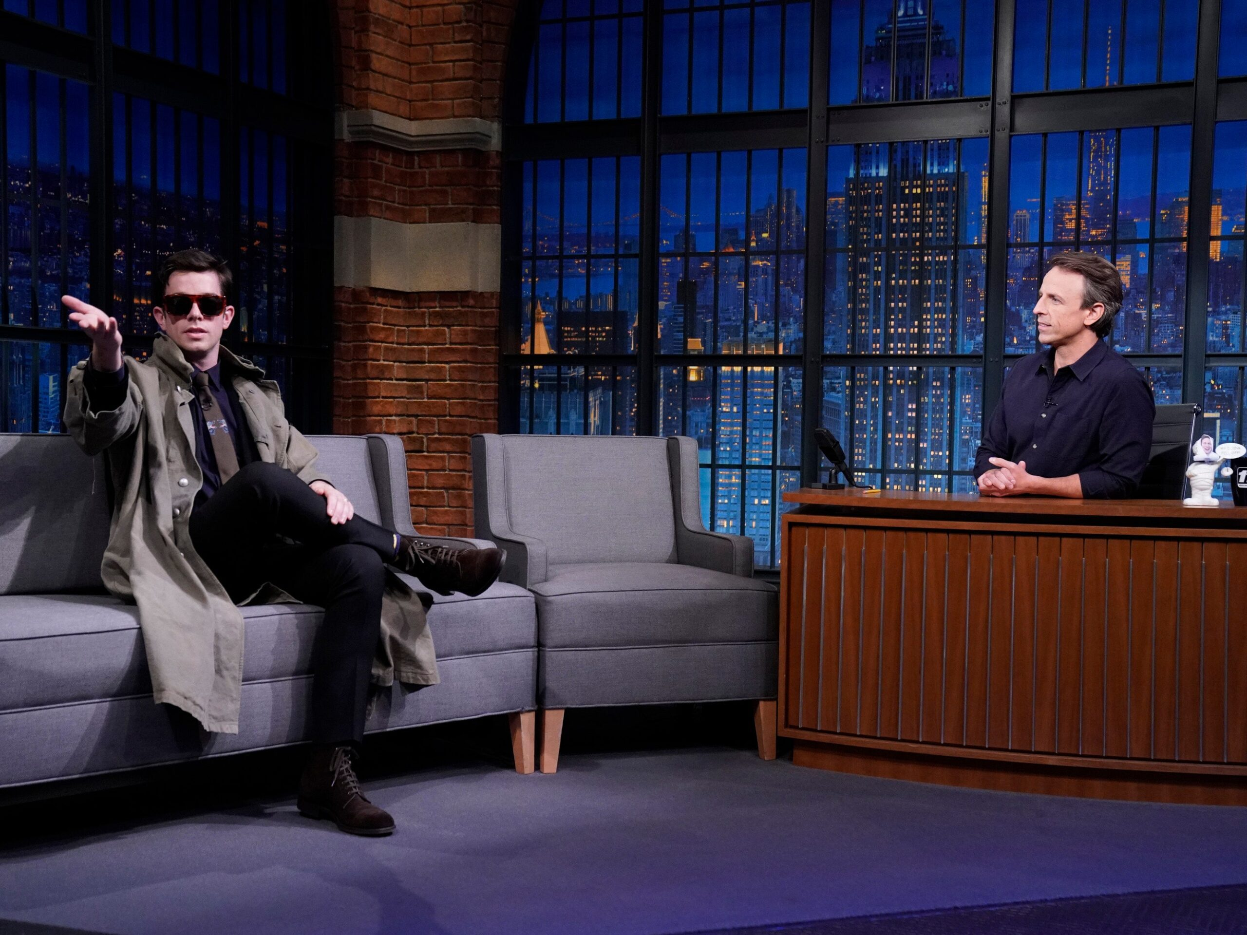 Pitchfork John Mulaney Joins Late Night With Seth Meyers as Staff Writer  