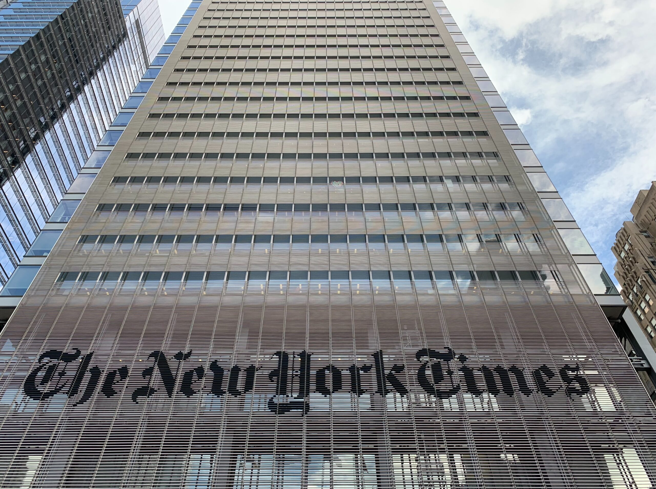 The New York Times Building NYC