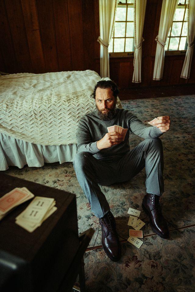 Matthew Rhys Esquire magazine photo shoot November 2020