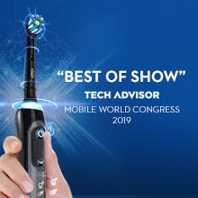 Best of Show Tech Advisor 2019 Oral B